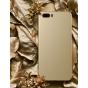 Фирменная ультра-тонкая пластиковая задняя панель-чехол-накладка для ZTE Nubia M2 5.5 (NX551J) золотая..