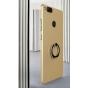 Фирменная ультра-тонкая пластиковая задняя панель-чехол-накладка для ZTE Nubia Z17 mini 5.2 (NX569J/H) золотая..