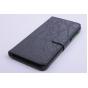 Фирменный чехол-книжка из качественной импортной кожи с мульти-подставкой застёжкой и визитницей для ZTE Blade S6 Plus / Q7 черный