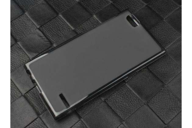 """Фирменная ультра-тонкая полимерная из мягкого качественного силикона задняя панель-чехол-накладка для ZTE Geek 2 LTE / ZTE Geek II  (S-2003) 5.0"""" черная"""