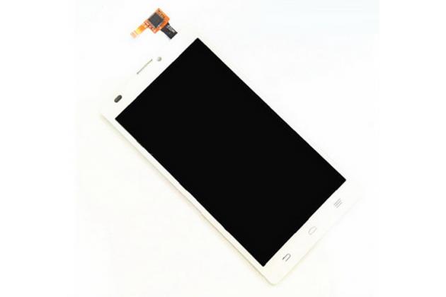 Фирменный LCD-ЖК-сенсорный дисплей-экран-стекло с тачскрином на телефон ZTE Blade L2 белый + гарантия