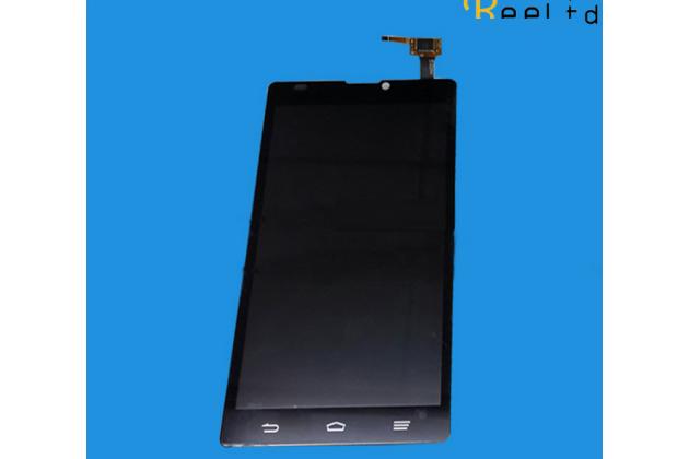 Фирменный LCD-ЖК-сенсорный дисплей-экран-стекло с тачскрином на телефон ZTE Blade L2 черный + гарантия