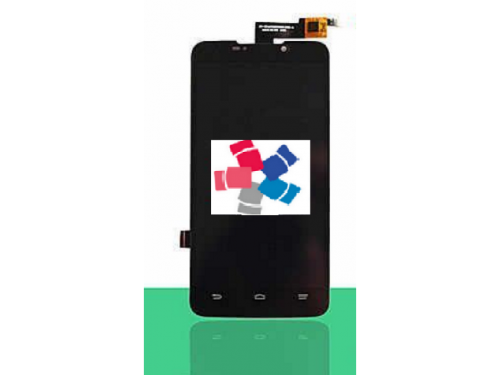 Фирменный LCD-ЖК-сенсорный дисплей-экран-стекло с тачскрином на телефон ZTE Grand Memo 1 (N5) черный..