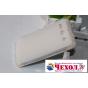 Фирменная ультра-тонкая полимерная из мягкого качественного силикона задняя панель-чехол-накладка для ZTE Gran..