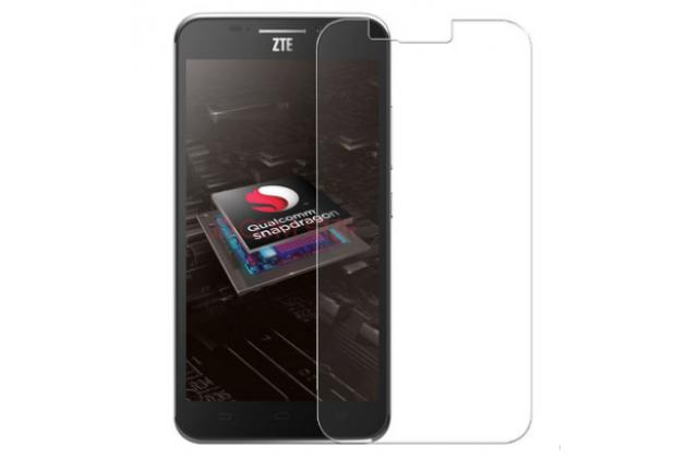 """Фирменное защитное закалённое противоударное стекло премиум-класса из качественного японского материала с олеофобным покрытием для телефона ZTE Grand S2 / SII (S291) 5.5"""""""
