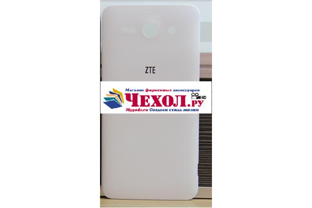 """Родная оригинальная задняя крышка-панель которая шла в комплекте для ZTE Grand S2 / SII (S291) 5.5"""" белая"""