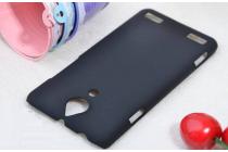 """Фирменная задняя панель-крышка-накладка из тончайшего и прочного пластика для ZTE Nubia Z5 5.0"""" (NX501) черная"""