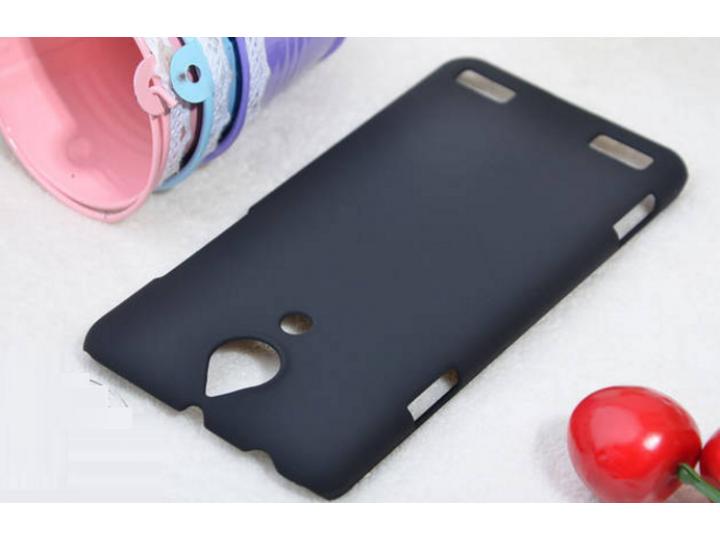 Фирменная задняя панель-крышка-накладка из тончайшего и прочного пластика для ZTE Nubia Z5 5.0
