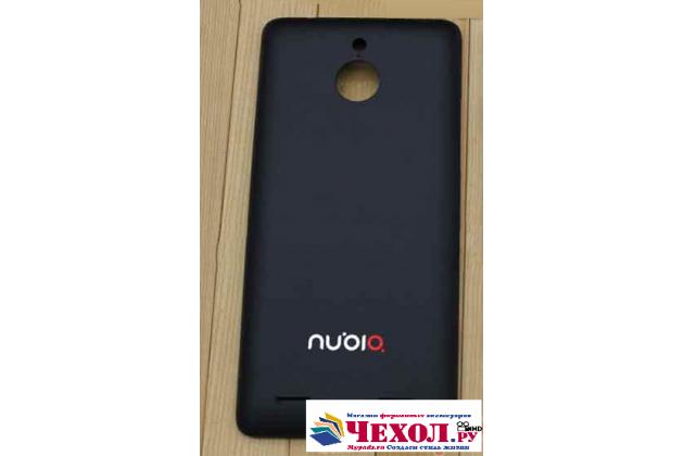 """Родная оригинальная задняя крышка-панель которая шла в комплекте для ZTE Nubia Z5 5.0"""" (NX501) черная"""