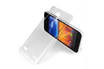 """Фирменная задняя панель-крышка-накладка из тончайшего и прочного пластика для ZTE Nubia Z5 5.0"""" (NX501) прозрачная"""