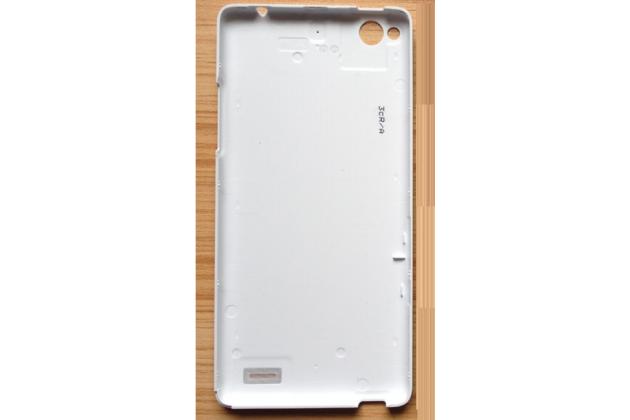 """Родная оригинальная задняя крышка-панель которая шла в комплекте для ZTE Nubia Z5S mini 4.7"""" (NX403A) белая"""