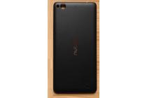 """Родная оригинальная задняя крышка-панель которая шла в комплекте для ZTE Nubia Z5S mini 4.7"""" (NX403A) черная"""
