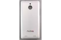 """Родная оригинальная задняя крышка-панель которая шла в комплекте для ZTE Nubia Z5 mini 4.7"""" (NX402) белая"""