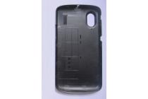 """Родная оригинальная задняя крышка-панель которая шла в комплекте для ZTE SKATE 1 4.3"""" (V960) черная"""