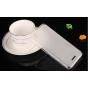 Фирменная ультра-тонкая полимерная из мягкого качественного силикона задняя панель-чехол-накладка для ZTE V975..