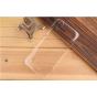 Фирменная задняя панель-крышка-накладка из тончайшего и прочного пластика для ZTE V975 Geek прозрачная..