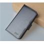Фирменный чехол-книжка из качественной импортной кожи с мульти-подставкой застёжкой и визитницей для ЗТЕ ГИК В..