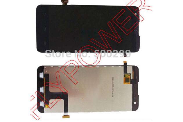 Фирменный LCD-ЖК-сенсорный дисплей-экран-стекло с тачскрином на телефон ZTE V975 Geek черный + гарантия