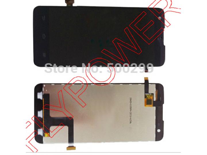 Фирменный LCD-ЖК-сенсорный дисплей-экран-стекло с тачскрином на телефон ZTE V975 Geek черный + гарантия..