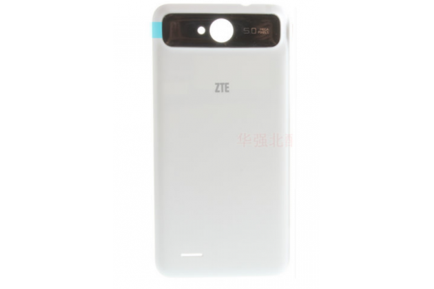 """Родная оригинальная задняя крышка-панель которая шла в комплекте для ZTE Skate 2 5.0"""" (V967S) белая"""