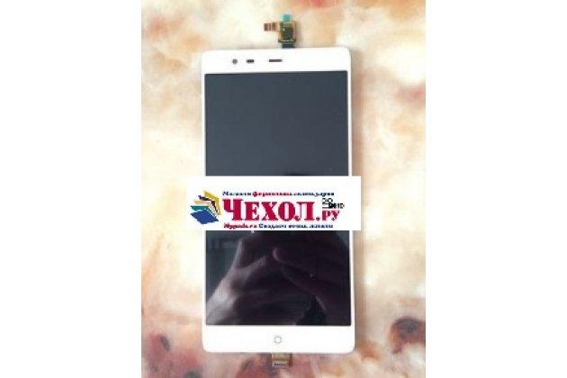 """Фирменный LCD-ЖК-сенсорный дисплей-экран-стекло с тачскрином на телефон  ZTE Nubia X6 6.4"""" (NX601J) белый"""