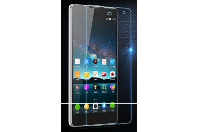 """Фирменное защитное закалённое противоударное стекло премиум-класса из качественного японского материала с олеофобным покрытием для телефона  ZTE Nubia X6 6.4"""" (NX601J)"""