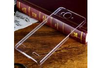 Фирменная задняя панель-крышка-накладка из тончайшего и прочного пластика для ZTE V5 / V5s (U9180 / V9180 Red Bull) прозрачная