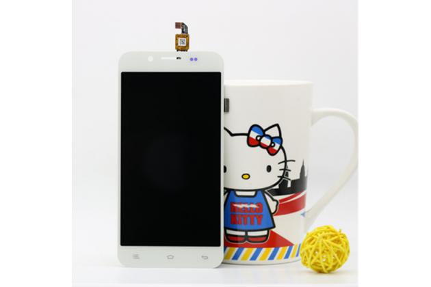 """Фирменный LCD-ЖК-сенсорный дисплей-экран-стекло с тачскрином на телефон Zopo ZP1000"""" белый"""