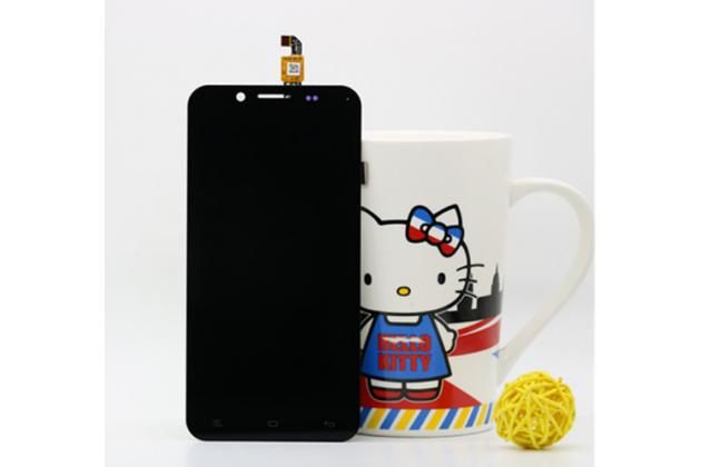 """Фирменный LCD-ЖК-сенсорный дисплей-экран-стекло с тачскрином на телефон Zopo ZP1000"""" черный"""