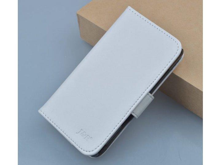 Фирменный чехол-книжка из качественной импортной кожи с мульти-подставкой застёжкой и визитницей для Zopo C2/Z..