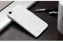 """Фирменная задняя панель-крышка-накладка из тончайшего и прочного пластика для Zopo C2"""" белая"""