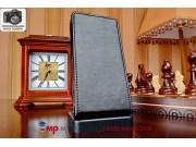 Фирменный оригинальный вертикальный откидной чехол-флип для Zopo C2/Zopo ZP980 черный кожаный