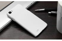 """Фирменная задняя панель-крышка-накладка из тончайшего и прочного пластика для Zopo ZP980+ 8-CORE 2Gb Ram 16Gb"""" белая"""
