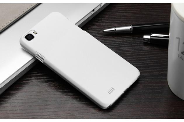 """Фирменная задняя панель-крышка-накладка из тончайшего и прочного пластика для Zopo ZP980 16Gb"""" белая"""