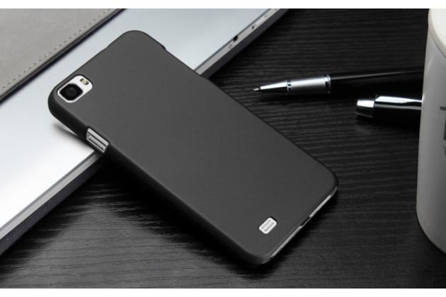 """Фирменная задняя панель-крышка-накладка из тончайшего и прочного пластика для Zopo ZP980 16Gb"""" черная"""