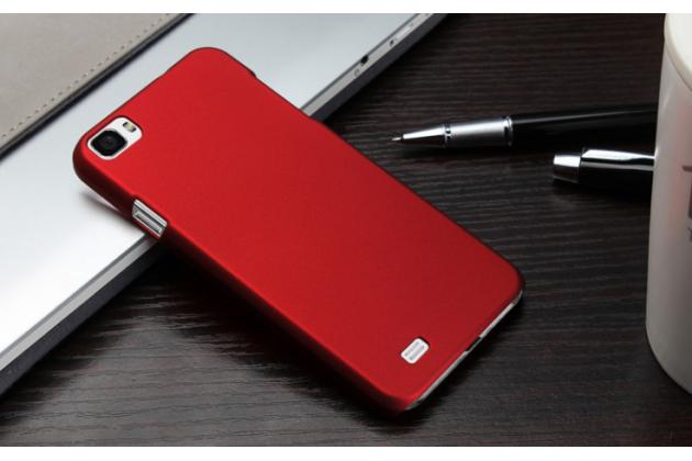 """Фирменная задняя панель-крышка-накладка из тончайшего и прочного пластика для Zopo ZP980 16Gb"""" красная"""