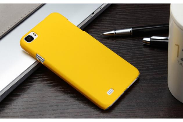 """Фирменная задняя панель-крышка-накладка из тончайшего и прочного пластика для Zopo ZP980 16Gb"""" желтая"""