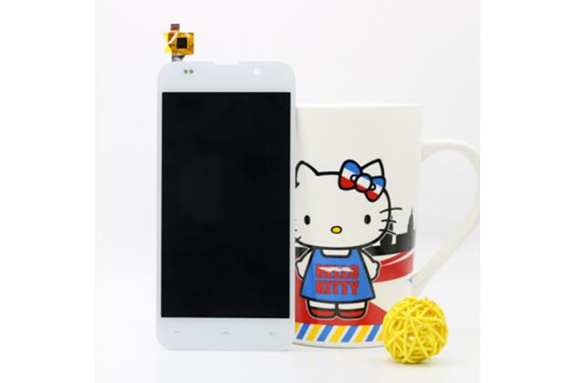 """Фирменный LCD-ЖК-сенсорный дисплей-экран-стекло с тачскрином на телефон Zopo ZP980 16Gb"""" белый"""