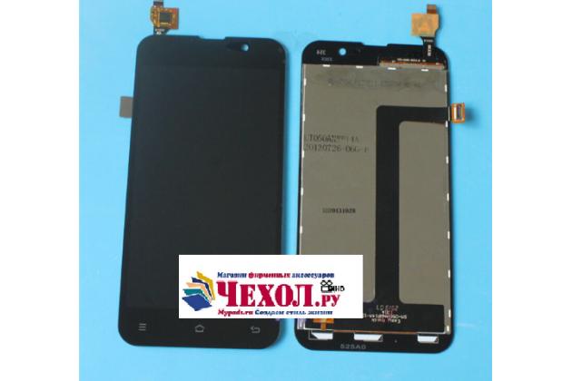 """Фирменный LCD-ЖК-сенсорный дисплей-экран-стекло с тачскрином на телефон Zopo ZP980 16Gb"""" черный"""
