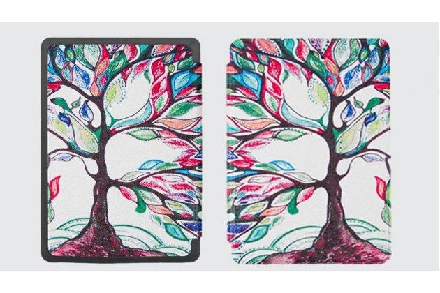 Фирменный необычный чехол для Amazon Kindle 5 / Amazon Kindle 4 Wi-Fi тематика Сказочное Дерево