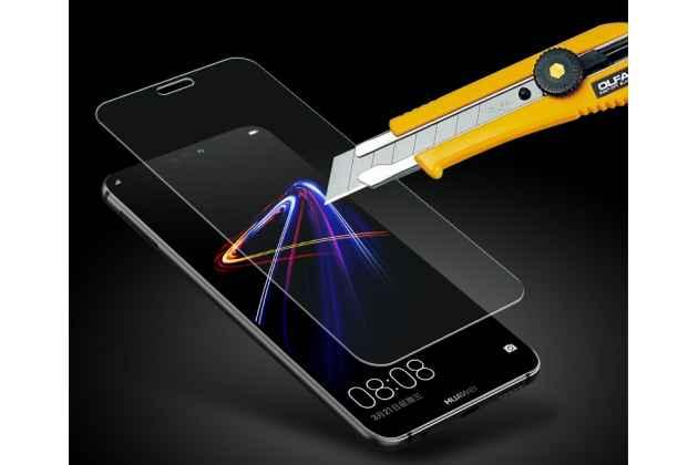 Фирменное защитное закалённое противоударное стекло для телефона Huawei Nova 3 из качественного японского материала премиум-класса с олеофобным покрытием
