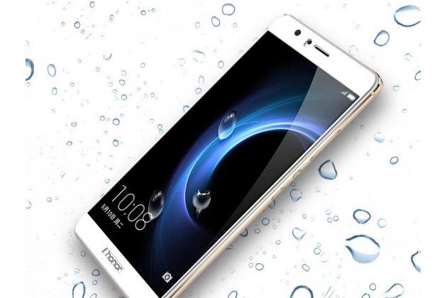 Фирменное 3D защитное изогнутое стекло с закругленными изогнутыми краями которое полностью закрывает экран / дисплей по краям с олеофобным покрытием для Huawei Honor V10 / Honor View 5.99 (BKL-AL20)