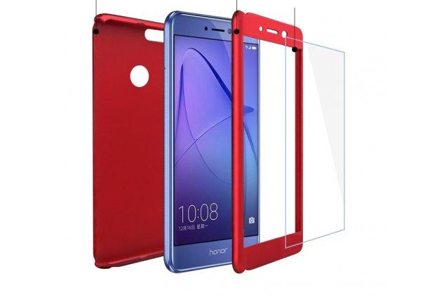 Фирменный уникальный чехол-бампер-панель с полной защитой дисплея и телефона по всем краям и углам для Huawei Honor V10 / Honor View 5.99 (BKL-AL20) черный