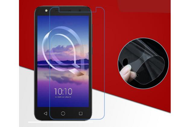 Фирменная оригинальная защитная пленка для телефона Alcatel U5 HD 5047D глянцевая