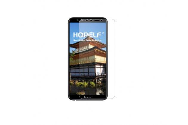 Фирменная оригинальная защитная пленка для телефона Huawei Honor 9 Lite (LLD-AL00) глянцевая