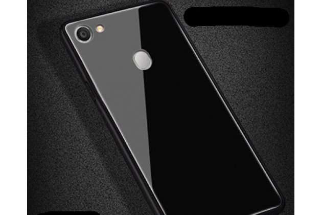 Фирменная ультра-тонкая полимерная из мягкого качественного силикона задняя панель-чехол-накладка для Oppo A79 черная