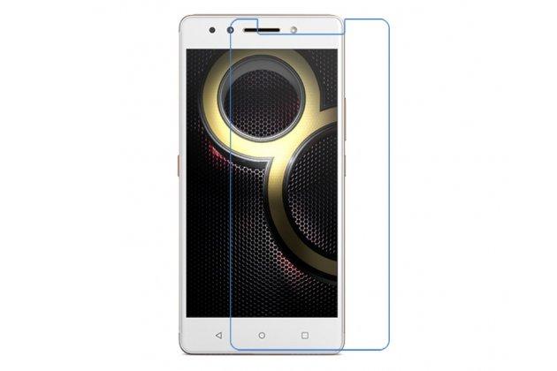 Фирменная оригинальная защитная пленка для телефона Lenovo K8 5.2 глянцевая