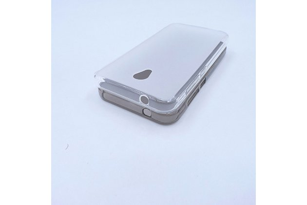 Фирменная ультра-тонкая полимерная из мягкого качественного силикона задняя панель-чехол-накладка для Alcatel U5 3G 4047D / Alcatel U5 3G 4047X белая