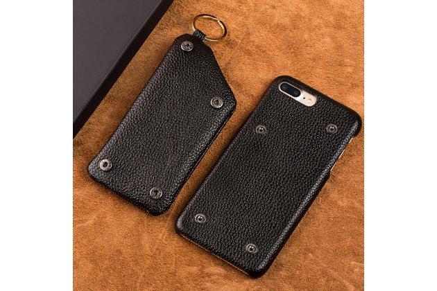 Фирменная премиальная элитная крышка-накладка-клатч из тончайшего прочного пластика и качественной импортной кожи для HTC U11 EYEs с отделением для различных мелочей красная