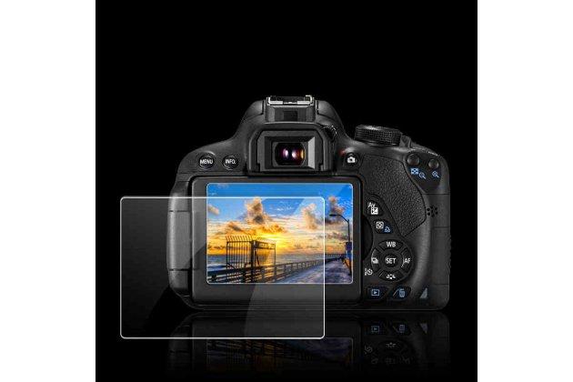 Фирменное защитное закалённое противоударное стекло для фотоаппарата Olympus E-M10 Mark II/E-M10 Mark III/E-M5 Mark II/Pen E-PL8 из качественного японского материала премиум-класса с олеофобным покрытием